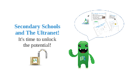 Secondary Schools and the Ultranet (WMR)