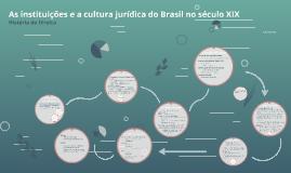 Ensino e Cultura Jurídica no Brasil