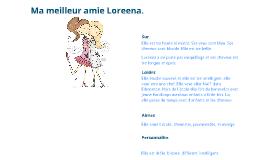 Mon meilleure Amie Loreena