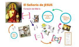 El Señorío de Jesús