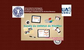 Escala de SMMSA de Pfeiffer