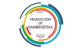 Producción de Darbepoetina