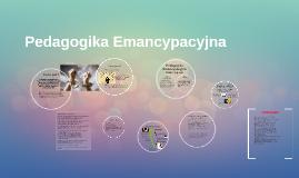 Pedagogika Emancypacyjna