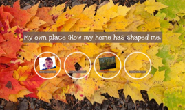 My own place :How my home has shaped me.