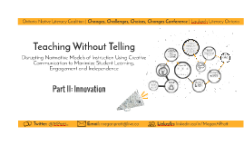 Teaching Without Telling | Part II: Innovation