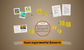 Quasi-experimental Research