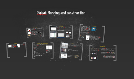 Digipak Planning and construction