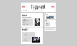 Stagegesprek