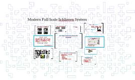 Modern Full Scale Schlieren System