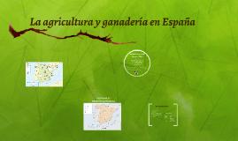 Copy of La agricultura y ganadería en España