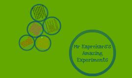 Maths PRS Mr Kaprekars's