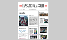 RAPE & SEXUAL ASSAULT