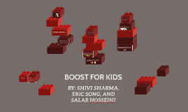 Copy of BOOST FOR KIDS