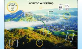 Resume Workshop ASP