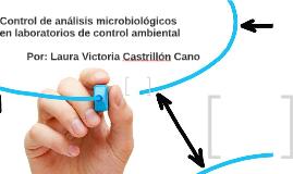 Control de análisis microbiológicos