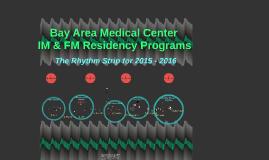 Bay Area Residency Programs