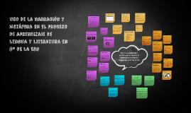 Uso de la narración y  metáfora en el proceso de aprendizaje