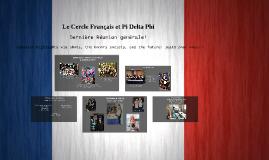 Le Cercle Français et Pi Delta Phi
