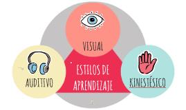 Copy of Estilos de Aprendizaje VAK