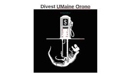Divest UMaine Orono