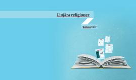 Linjära religioner