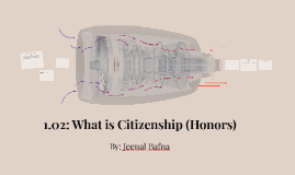 1.02: What is Citizenship (Honors)