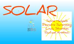 Australian Solar and Fossil Fuel Energy