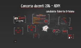 Copy of Concorso docenti 2016
