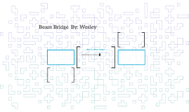 Beam Bridge  By: Wesley