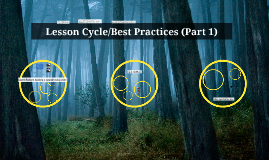Lesson Cycle/Best Practices