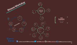 Copy of Resume Workshop