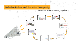 Relative Prices and Relative Properity