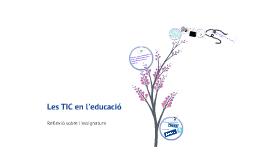 Les TIC en l'educació