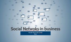 Social Netwoks in business