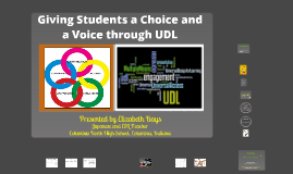 Copy of Giving Students a Choice and a Voice through UDL (Universal Design for Learning)