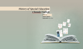 Copy of History of Special Education