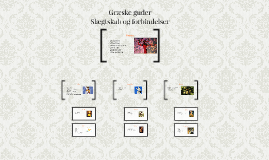 Copy of Græske guder