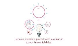 HACIA UN PANORAMA GENERAL SOBRE LA VALUACION ECONOMIA Y CONT
