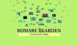 Romare Bearden; Community & Collage