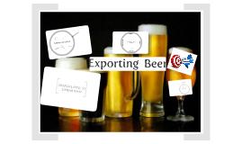 Exporting Premium Beer