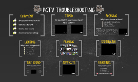 PCTV Troubleshooting