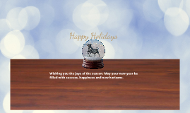 Holiday Greeting Test