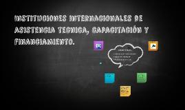 Instituciones internacionales