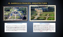 EL BARROCO: ARQUITECTURA EN FRANCIA