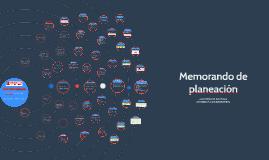Copy of  Memorando de planeación auditoria sistemas