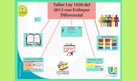 Taller ley 1620 del 2013- Enfoque Diferencial