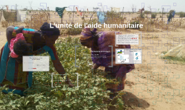 L'aide humanitaire