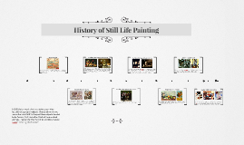 History of Still Life Painting
