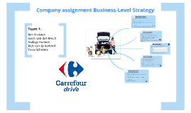 Company assignment Business-Level Strategy