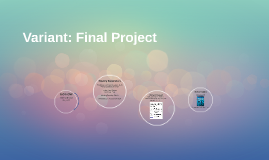 Variant: Final Project and Quiz